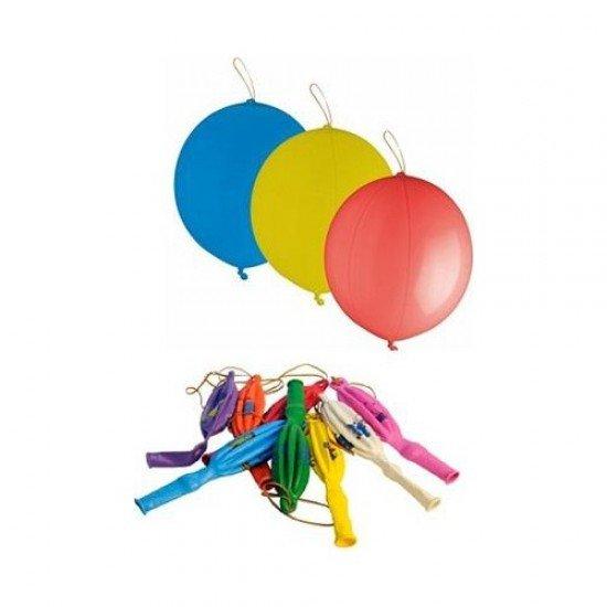 Lastikli Hop Hop Balon 18 İnç 6lı