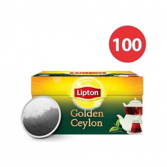 Lipton Golden Ceylon Tea Siyah Demlik Süzen Poşet Çay 100 x 3,2 gr