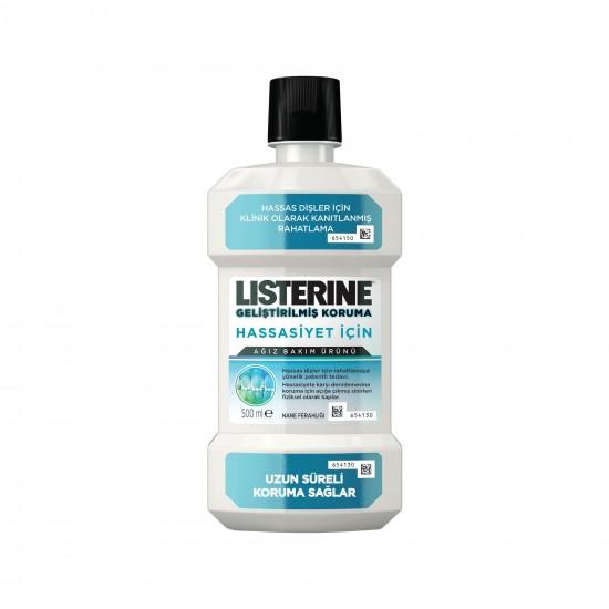 Listerine Hassasiyet Koruma Nane Ferahlığı 500 ML