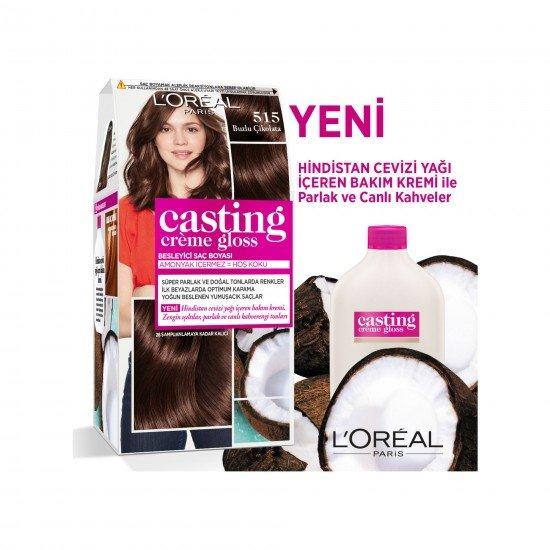 Loreal Paris Casting Creme Gloss Saç Boyası 515 Buzlu Çikolata