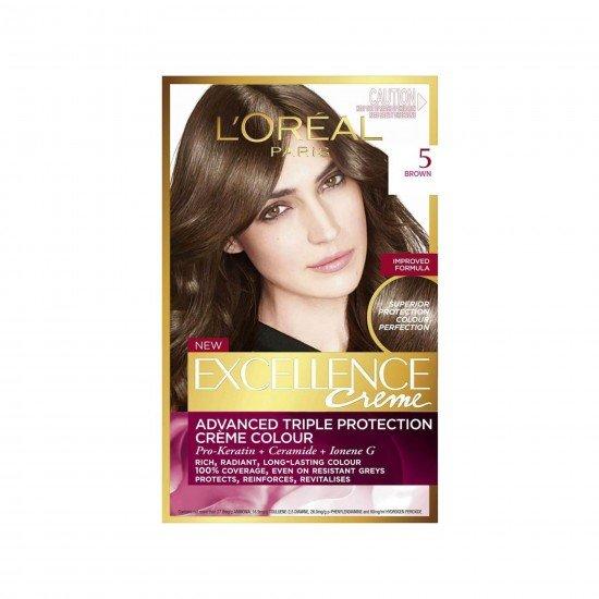 Loreal Paris Excellence Creme Saç Boyası 5 Kahve