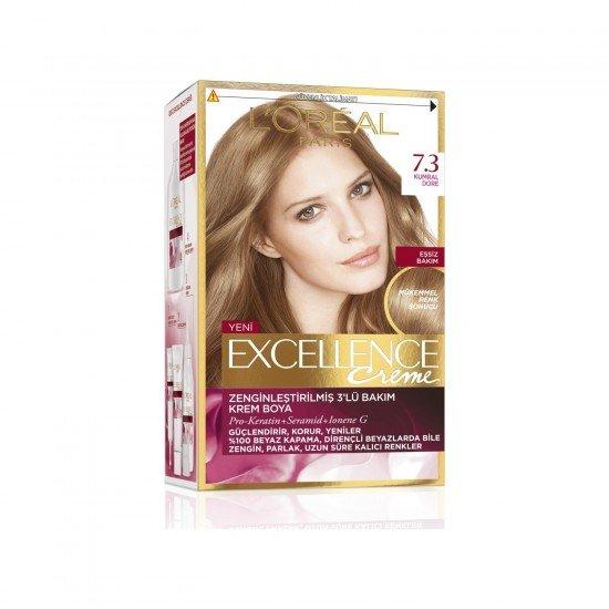 Loreal Paris Excellence Creme Saç Boyası 7.3 Kumral Dore