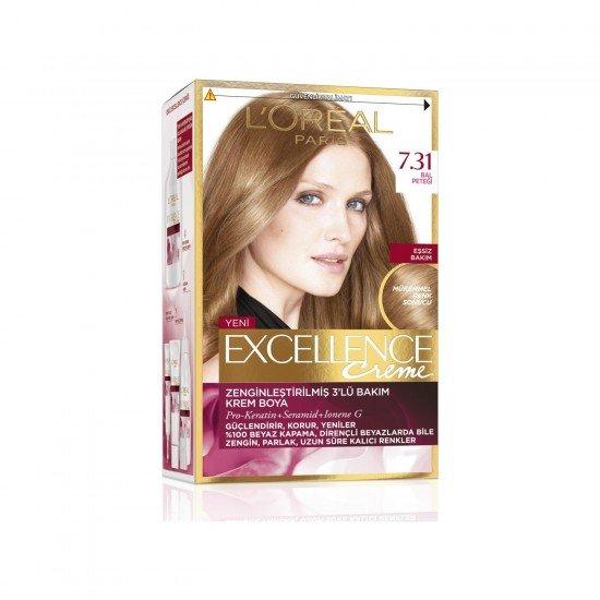 Loreal Paris Excellence Creme Saç Boyası 7.31 Bal Peteği