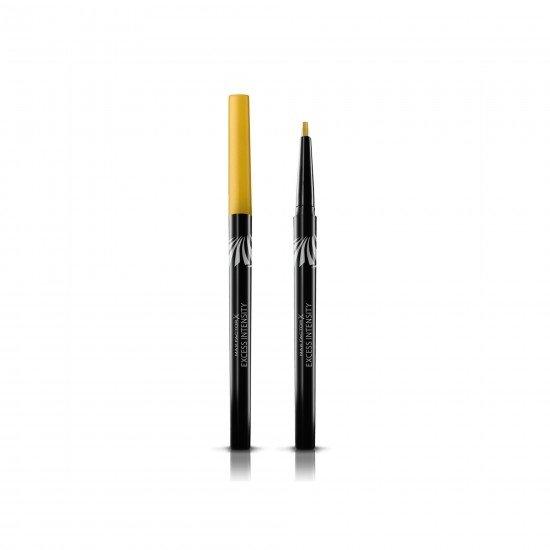 Max Factor Suya Dayanıklı Altın Rengi Eyeliner - Excess Intensity Long Wear Eyeliner 01 Gold