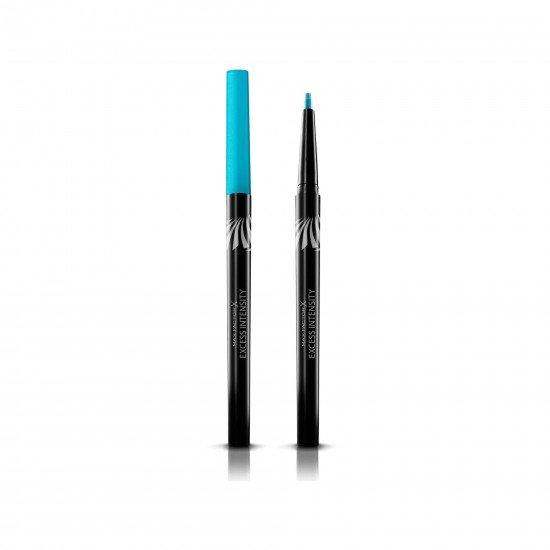 Max Factor Suya Dayanıklı Mavi Eyeliner - Excess Intensity Long Wear Eyeliner 02 Aqua