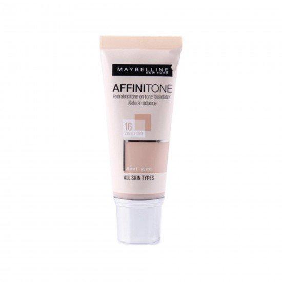 Maybelline New York Affinitone Fondöten - 16 Vanilla Rose