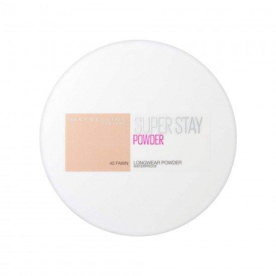 Maybelline Suya Dayanıklı Pudra - SuperStay 24H Waterproof Powder 40 Fawn