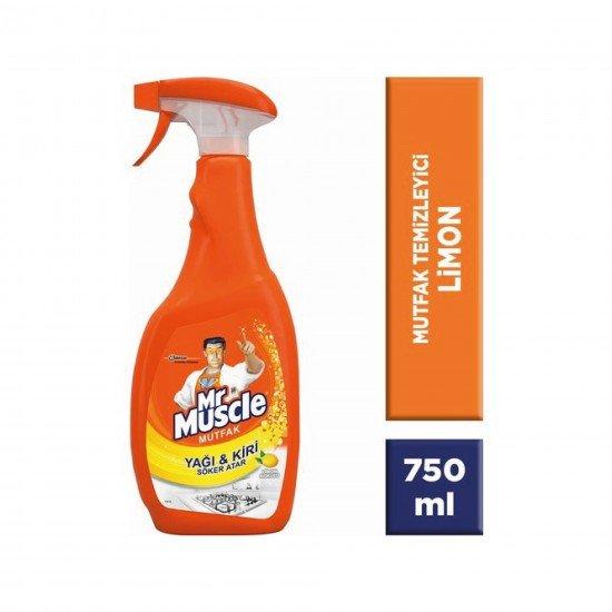 Mr Muscle Mutfak Temizleyici Limon Kokulu 750 ML