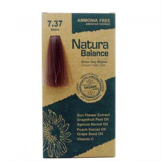 Natura Balance Organik Saç Boyası 7.37 Badem