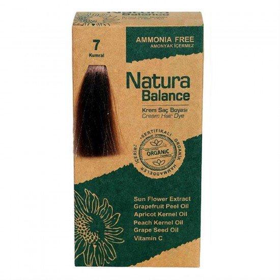Natura Balance Organik Saç Boyası 7 Kumral