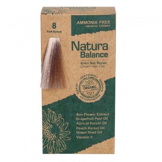 Natura Balance Organik Saç Boyası 8 Açık Kumral