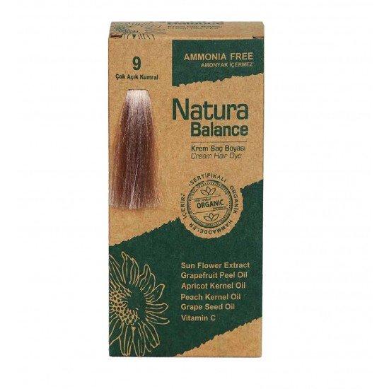 Natura Balance Organik Saç Boyası 9 Çok Açık Kumral