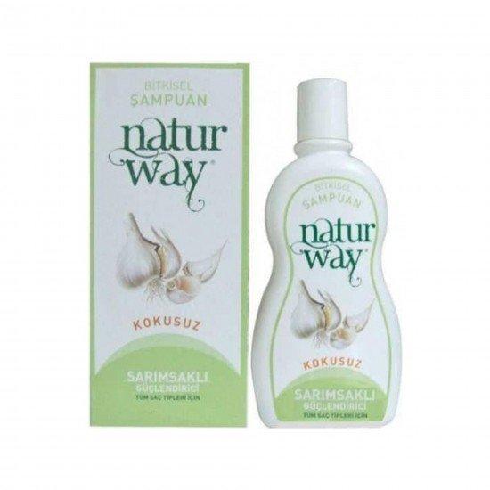 Naturway Sarımsaklı Güçlendirici Bitkisel Şampuan 500 ML