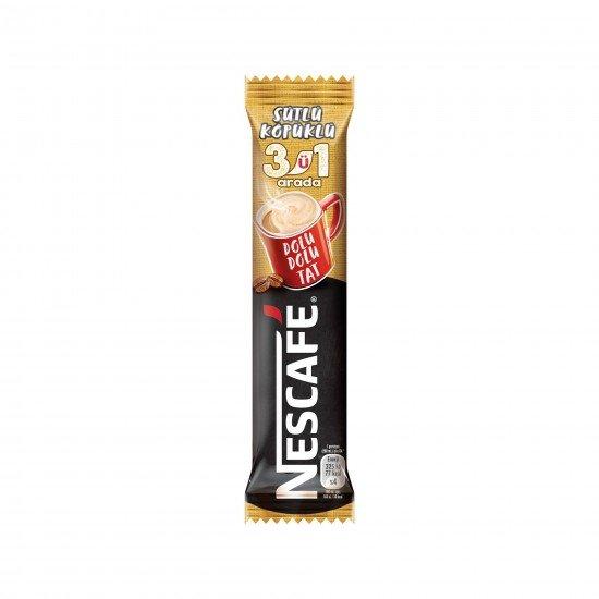 Nescafe 3ü 1 Arada Sütlü Köpüklü 17.4 GR
