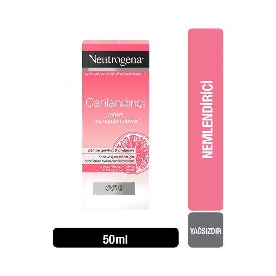 Neutrogena Canlandırıcı Yağsız Nemlendirici 50 Ml