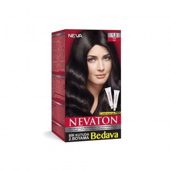 Nevaton Set Saç Boyası 1.0 Siyah