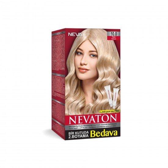 Nevaton Set Saç Boyası 10.0 Platin