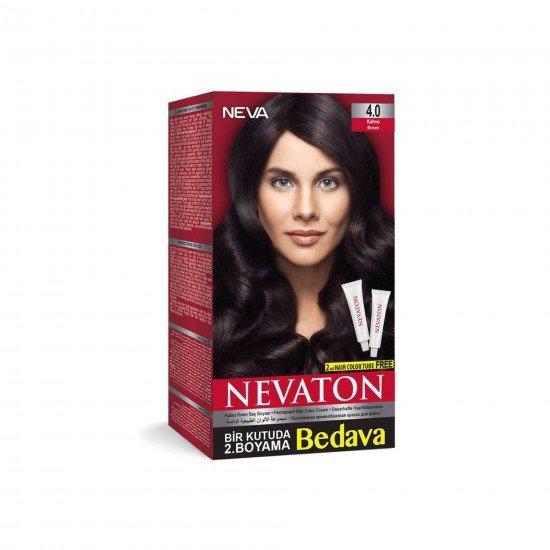 Nevaton Set Saç Boyası 4.0 Kahve