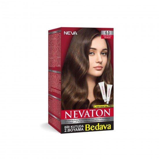 Nevaton Set Saç Boyası 6.0 Koyu Kumral