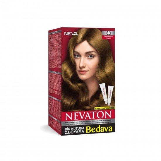 Nevaton Set Saç Boyası 6.3 Fındık Kabuğu