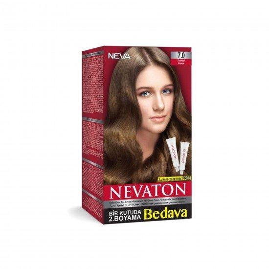 Nevaton Set Saç Boyası 7.0 Kumral