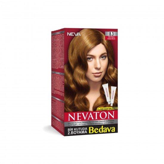 Nevaton Set Saç Boyası 8.3 Altın Sarısı