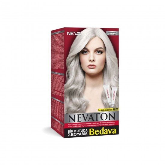 Nevaton Set Saç Boyası Gümüş Rüya