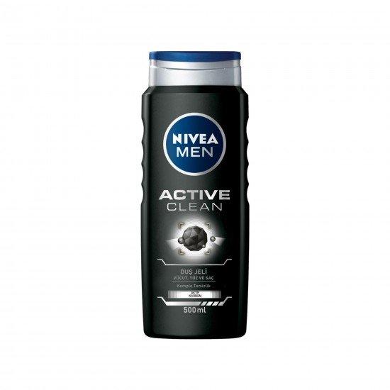 Nivea Active Clean Duş Jeli 500 Ml Erkek