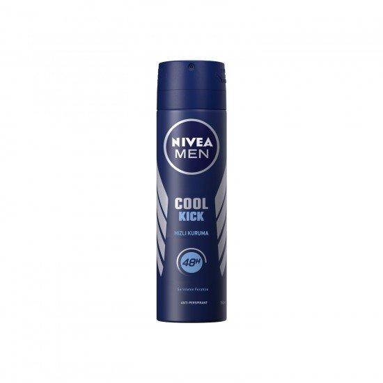 Nivea Cool Kick Erkek Deodorant Sprey 150 Ml