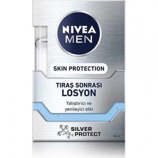 Nıvea Men Aftershave Silver Protect Losyon 100 Ml