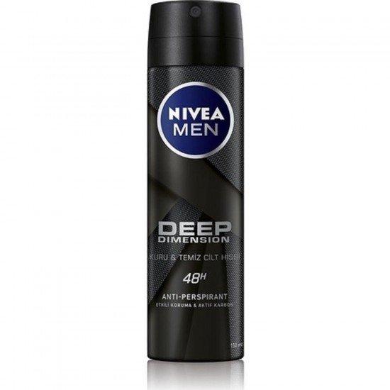 Nivea Men Deep Dimension Erkek Deodorant Sprey 150 Ml
