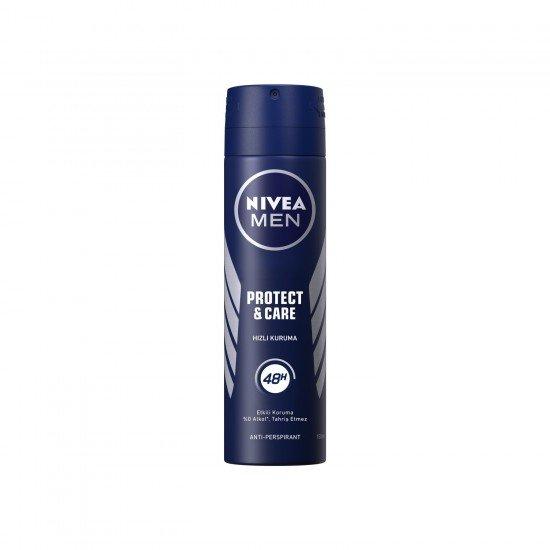 Nivea Men Protect & Care Erkek Deodorant Sprey 150 Ml