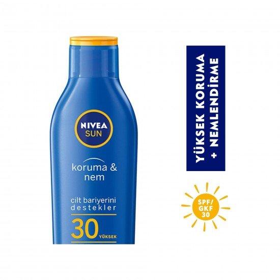 Nivea Sun Koruma&Nem Nemlendirici Güneş Losyonu Gkf 30 200 Ml