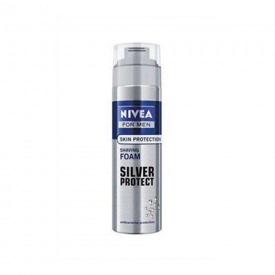 Nivea Tıraş Köpüğü Silver Protect 200 ML