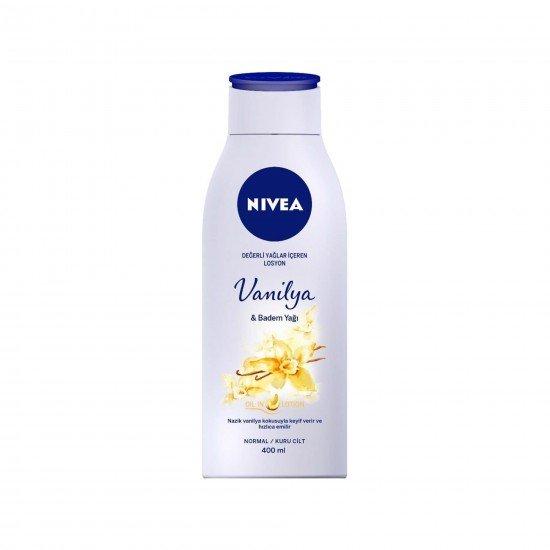 Nivea Vanilya & Badem Yağı Vücut Losyonu 400Ml