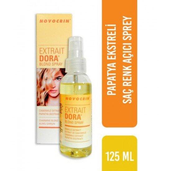 Novocrin Extrait Dora Saç Renk Açıcı 125 Ml