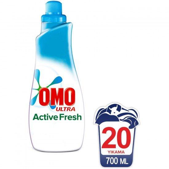 Omo Ultra Sıvı Konsantre Çamaşır Deterjanı Actıve Fresh 20 Yıkama 700 ML