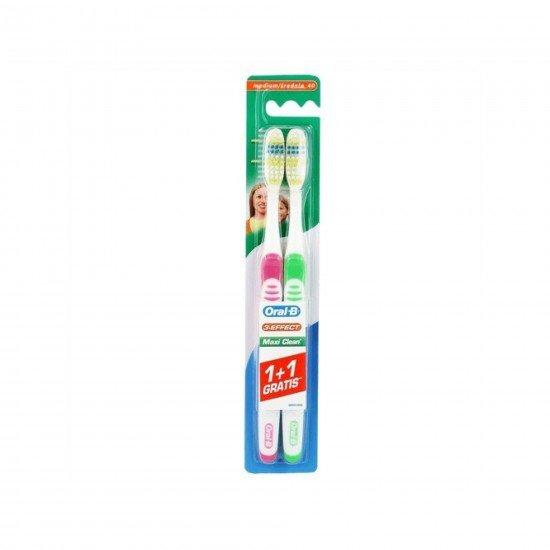 Oral-B 3 Effect Maxi Clean 40 Soft Dis Firçasi 1+1