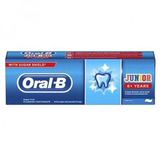 Oral-B Çocuk Diş Macunu Junior 6+ Yaş 75 Ml