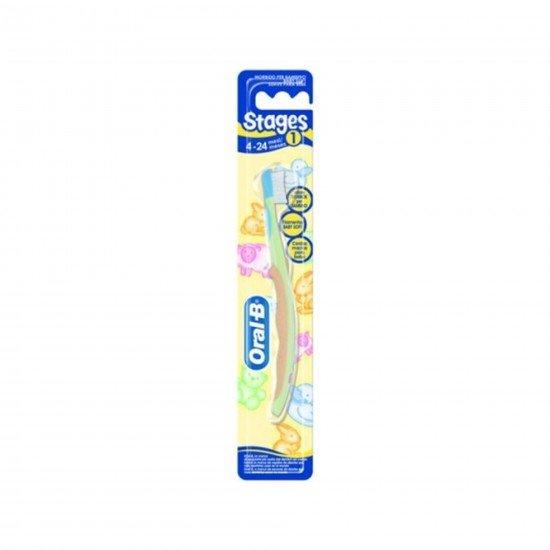 Oral-B Dıs Fırcası Stages Baby Soft 4-24 1 Yas