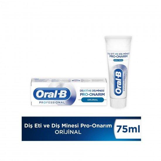 Oral-B Professional 75 Diş Eti ve Diş Minesi Pro Onarım Original Diş Macunu 75 Ml