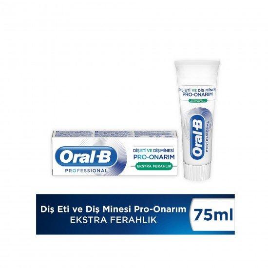 Oral-B Professional Diş Eti ve Diş Minesi Pro Onarım Ekstra Ferahlık Diş Macunu 75 Ml