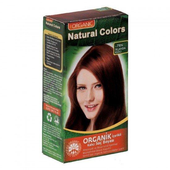 Organic Natural Colors 7RN İrlanda Kızılı Saç Boyası