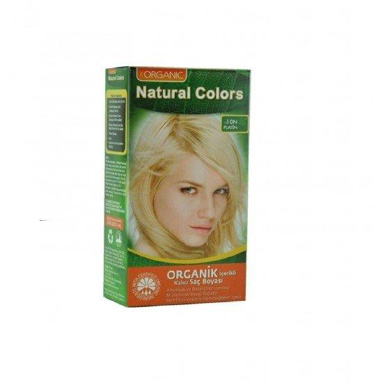 Organic Natural Colors Platin Saç Boyası 10N