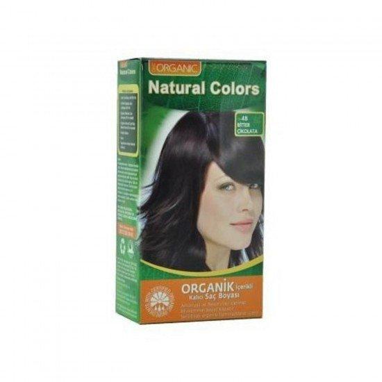 Organic Natural Colors Saç Boyası 4B Bitter Çikolata