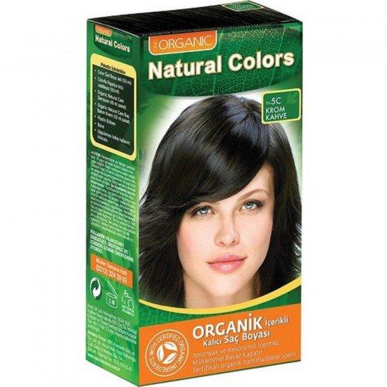 Organic Natural Colors Saç Boyası 5C Krom Kahve