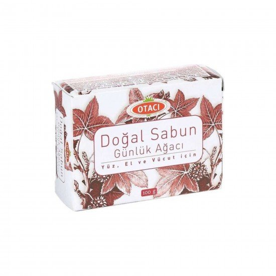 Otacı Doğal Sabun Günlük Ağacı 100 GR