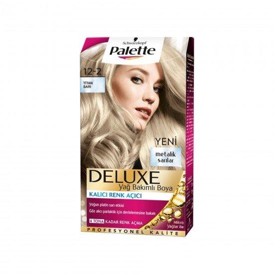 Palette Deluxe  Saç Boyası 12-2 Titan Sarı