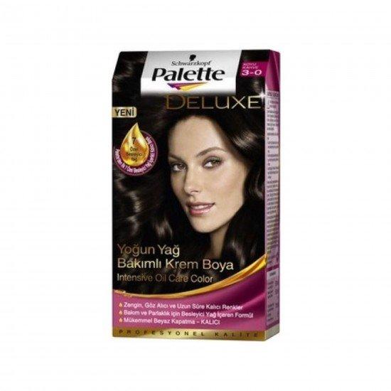 Palette Deluxe Saç Boyası 3-0 Koyu Kahve