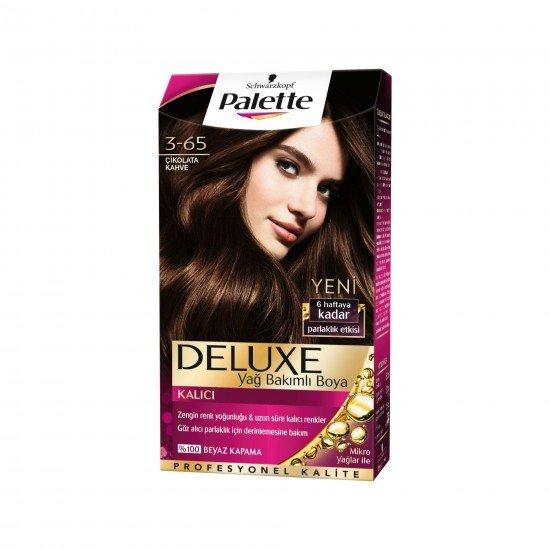 Palette Deluxe Saç Boyası 3-65 Çikolata Kahve
